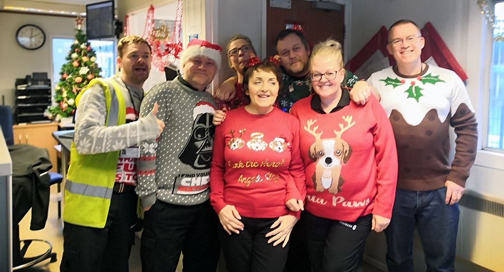 Seatruck Warrenpoint Christmas Jumper Day 2019